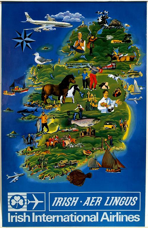 Irish-Aer Lingus Irish International Airline