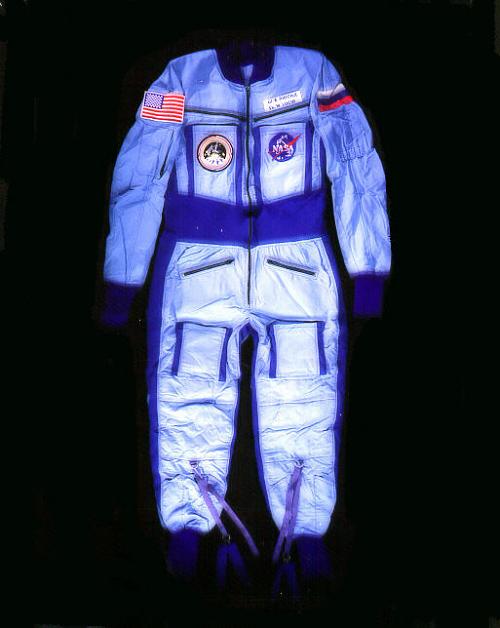 Suit, Penguin-3, Shannon Lucid, Prophylactic Body-Loading