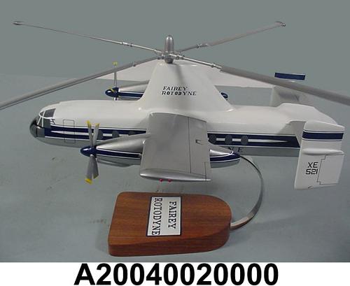 Model, Static, Fairey Rotodyne, 1/40 scale
