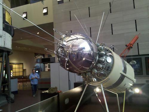 Vostok 3KA, Model, 1:3 scale