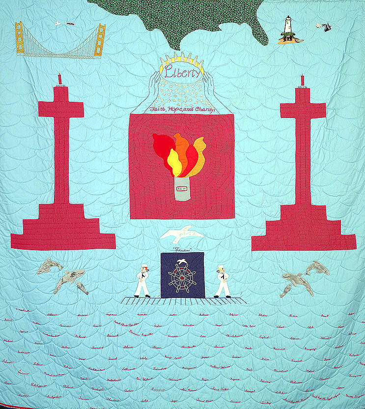 images for Statue of Liberty Quilt