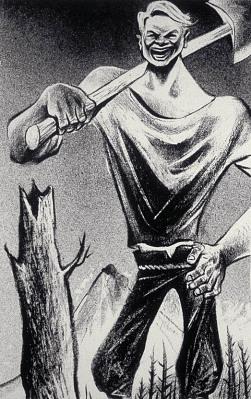 Paul Bunyan, from the series American Folk Heroes