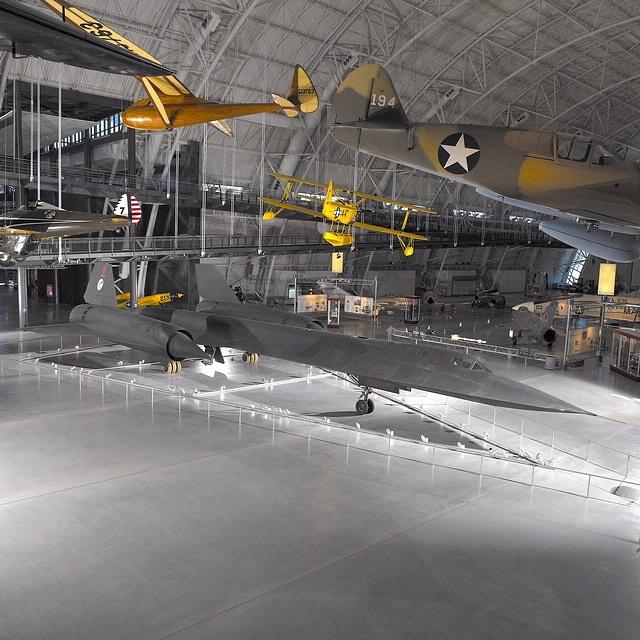 Lockheed SR-71 Blackbird at the Steven F. Udvar-Hazy Center