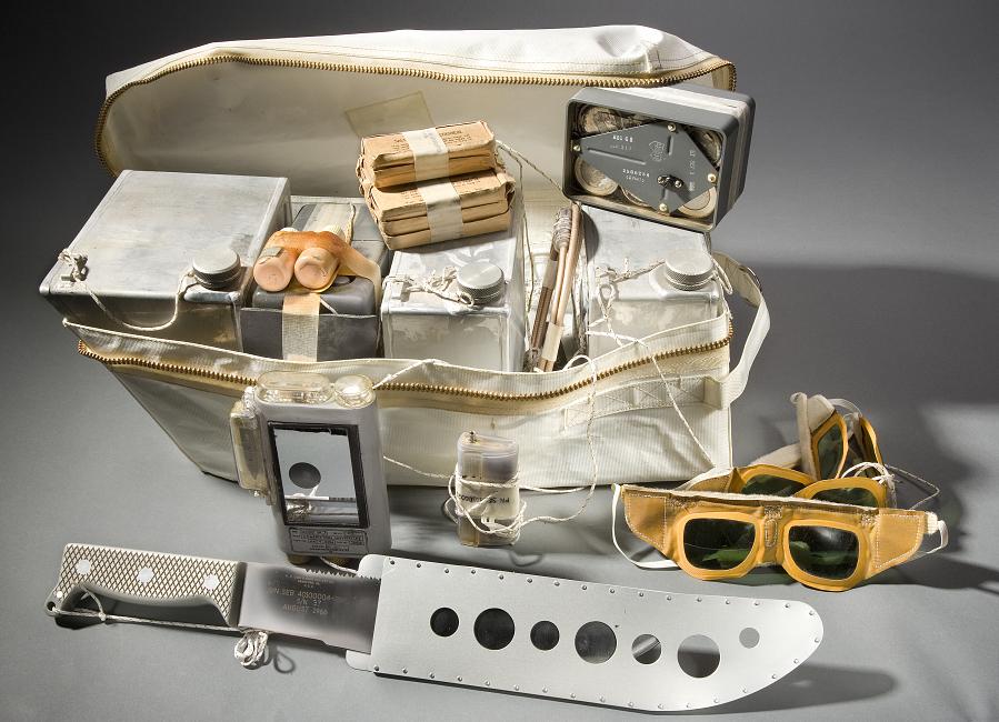 Rucksack #1, Survival Kit, Apollo 11