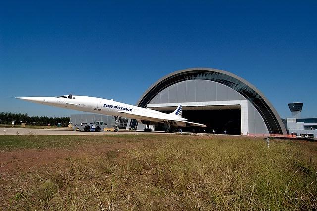 Concorde at Udvar-Hazy Center
