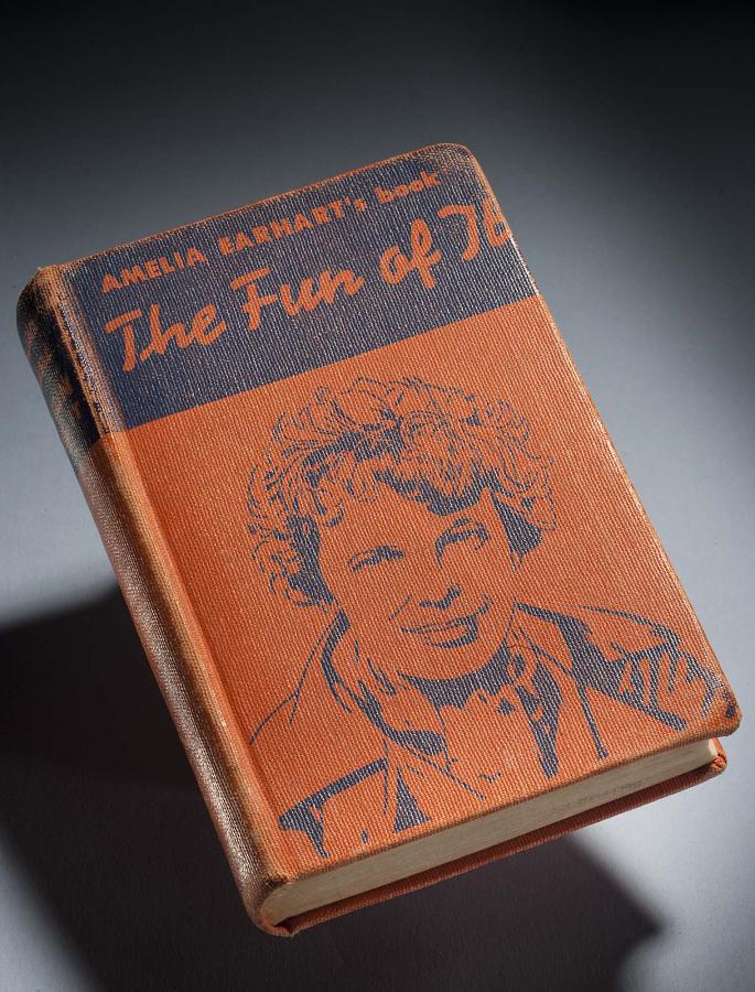 Book, Amelia Earhart, 'The Fun of It'