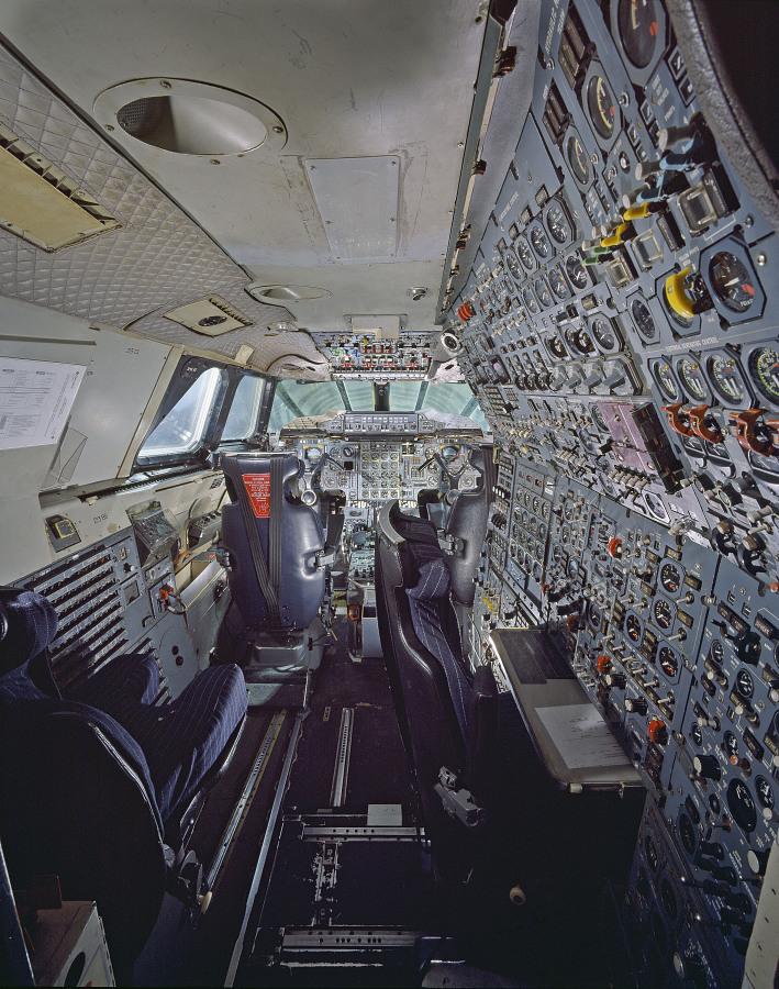 Concorde, Fox Alpha, Air France Cockpit at the Udvar-Hazy Center