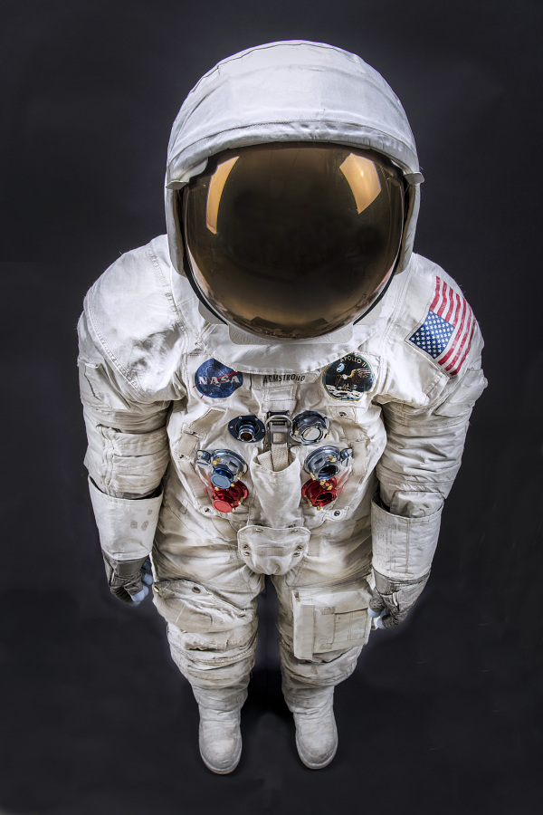 Pressure Suit, A7-L, Armstrong, Apollo 11, Flown