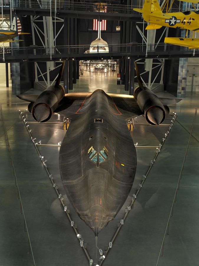 Lockheed SR-71 Blackbird at the Udvar-Hazy Center