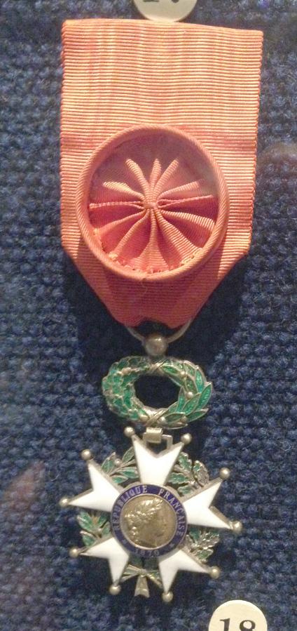 Medal, Legion of Honor -- Grand Officer, James H. Doolittle