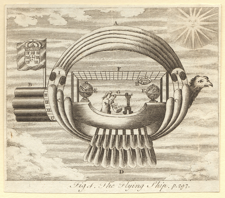 Fig. A. The Flying Ship. p. 297.