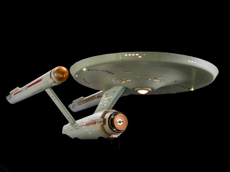 'Star Trek' Starship 'Enterprise' Studio Model