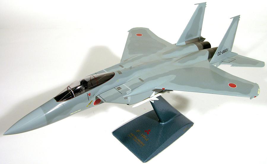 Model, Static, Mitsubishi F-15J Eagle