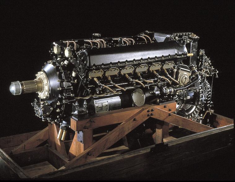 Packard (Rolls-Royce) Merlin V-1650-7, V-12 Engine