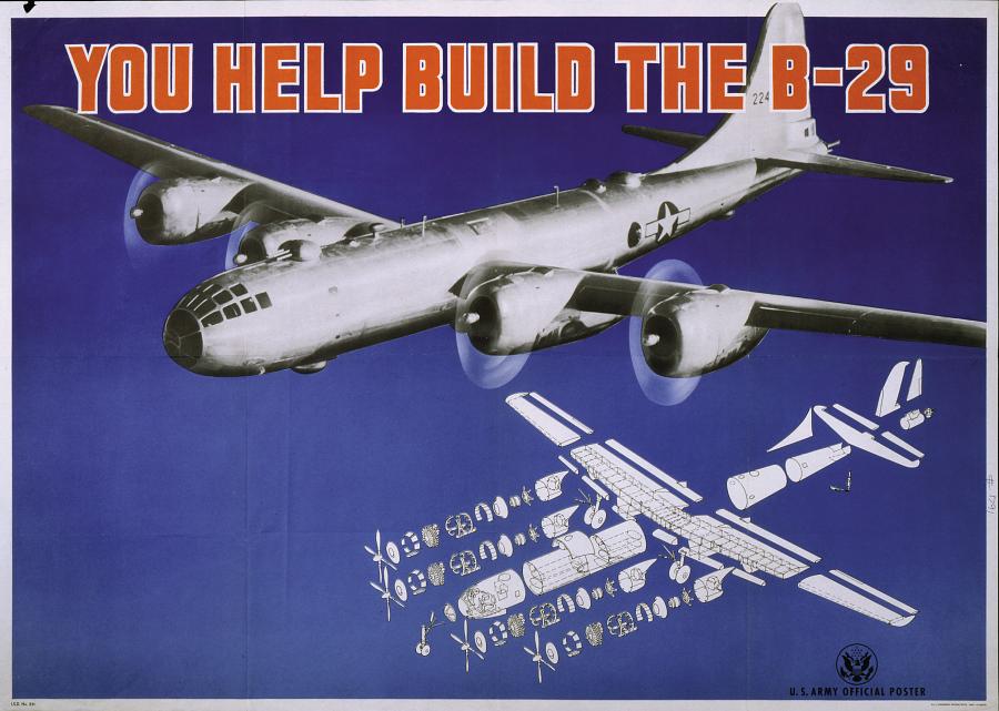 Boeing B-29 Superfortress 'Enola Gay'