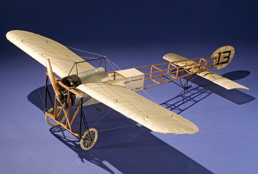 Model, Static, Queen Monoplane, Earle Ovington