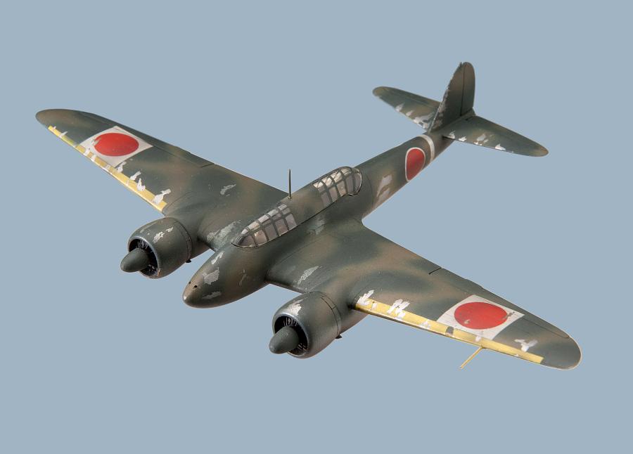 Model, Recognition, Kawasaki KI-45KAI, 'NICK'