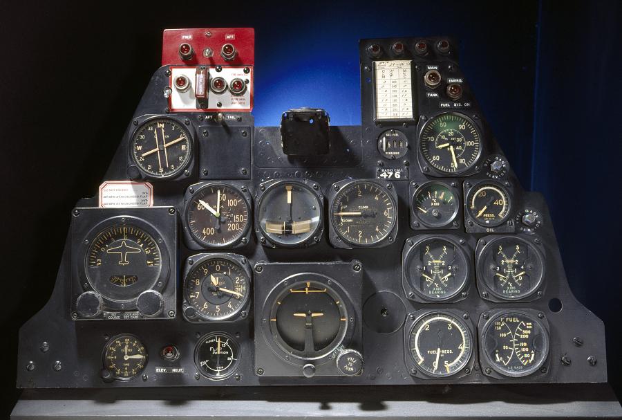 Instrument Panel, Republic XP-84