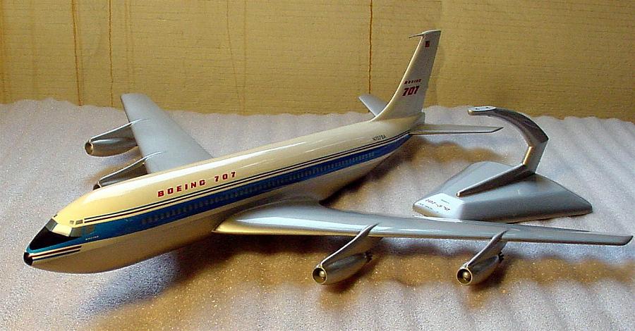 Model, Static, Boeing 707