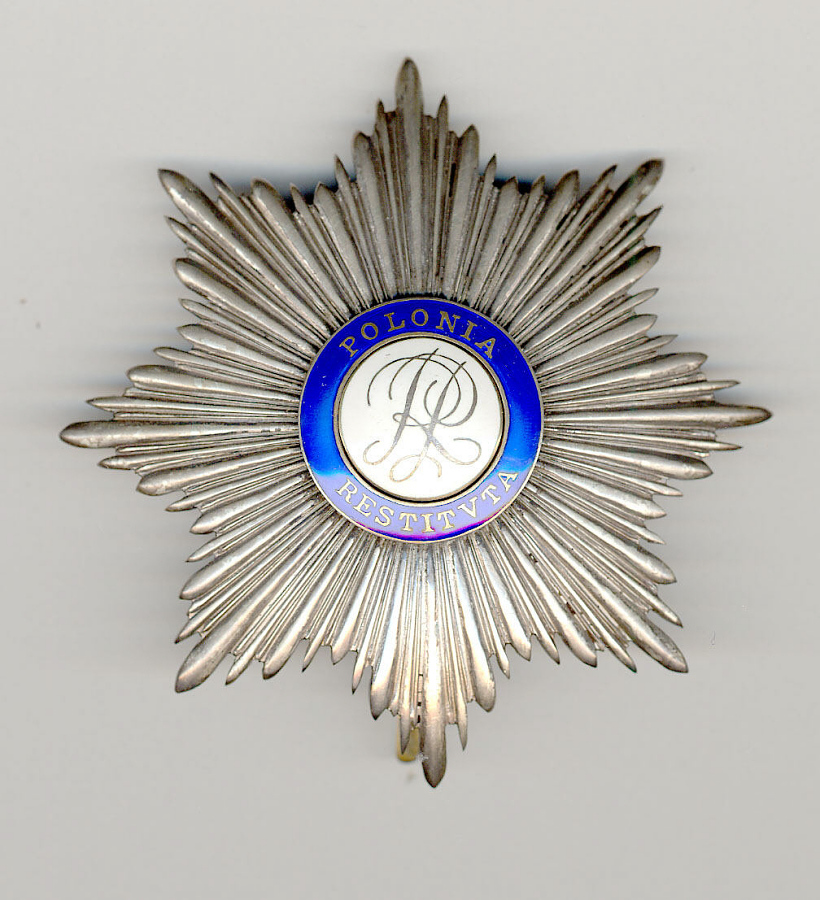 Breast Star, Order of Polonia Restituta, James H. Doolittle
