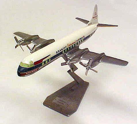 Model, Static, Lockheed 188A Electra, Braniff International Airways