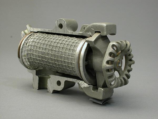 Lunkenheimer Model C-3 Engine Fuel Strainer