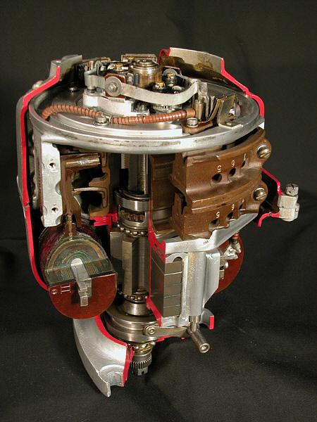 German Engine Magneto