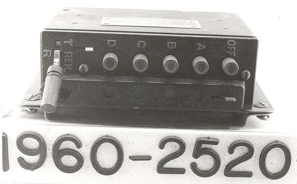 Control Box, Radio, BC-602-B