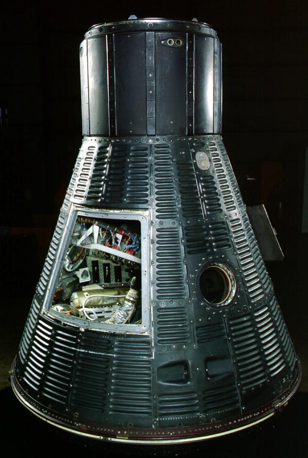 Capsule, Mercury, MR-3