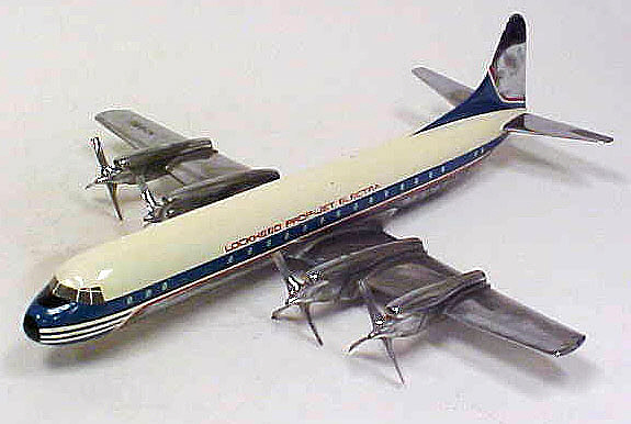 Model, Static, Lockheed 188A Electra II