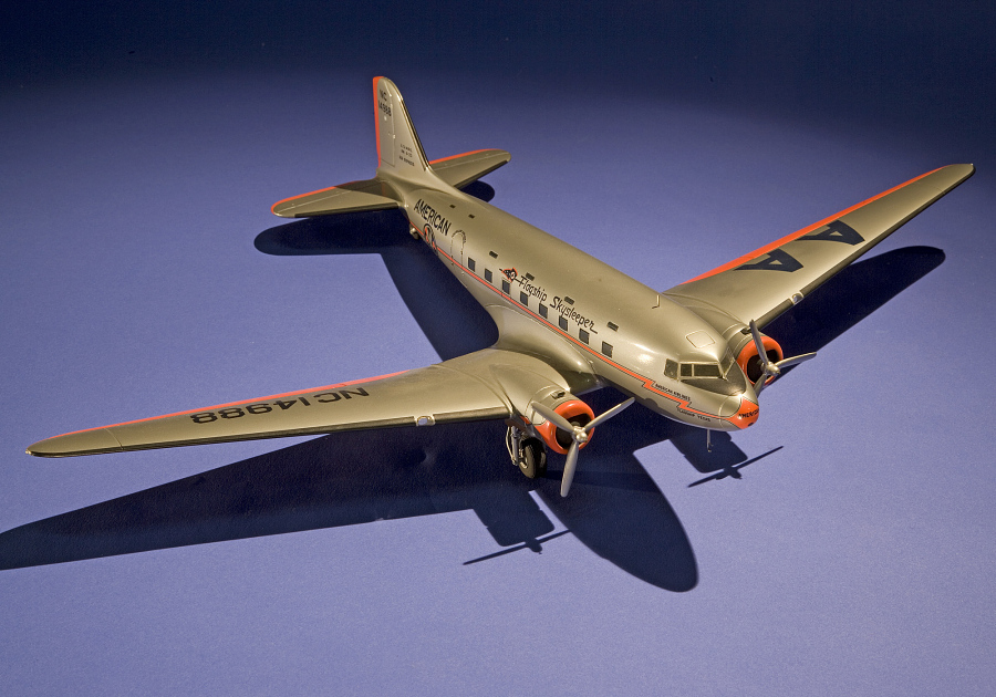 Model, Static, Douglas DST, American Airlines
