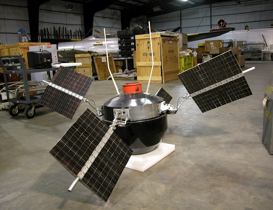 Explorer 6 Satellite (Reconstructed Replica)