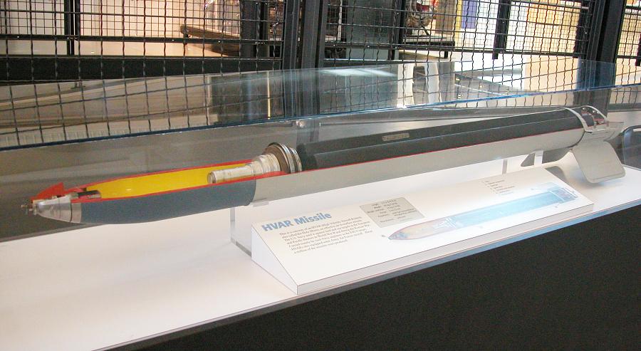 HVAR Missile, Cutaway