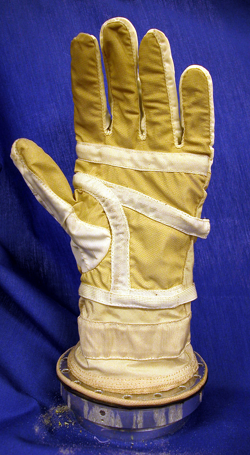 Glove, Left, G3-C, Gemini 3, Grissom, Flown