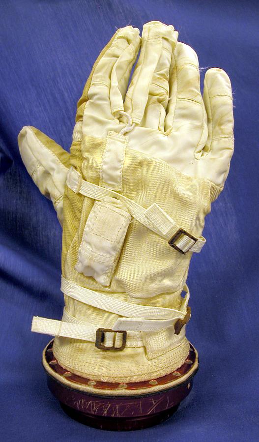 Glove, Right, G3-C, Gemini 3, Grissom, Flown