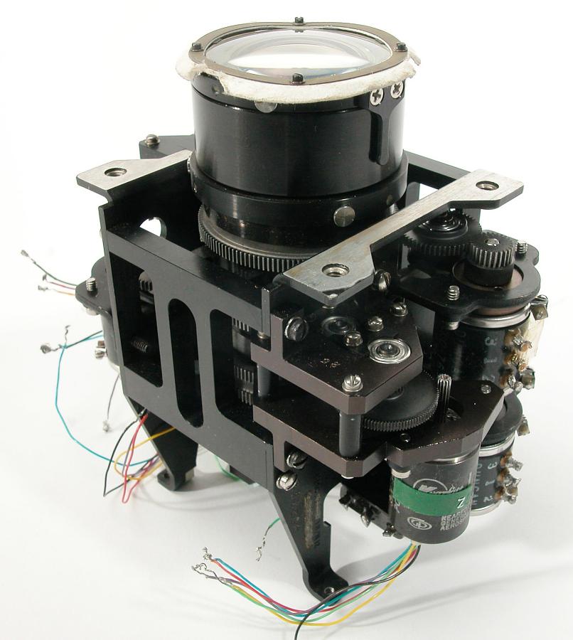 Camera, Lunar Lander, Surveyor, Variable Focal Length and Iris Assembly