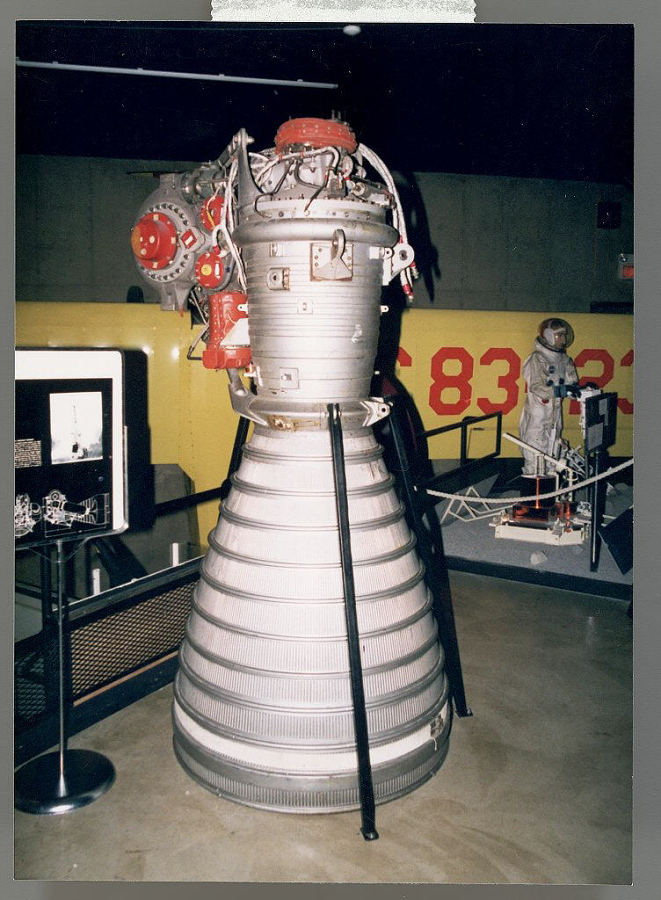 Rocket Engine, Liquid Fuel, H-1