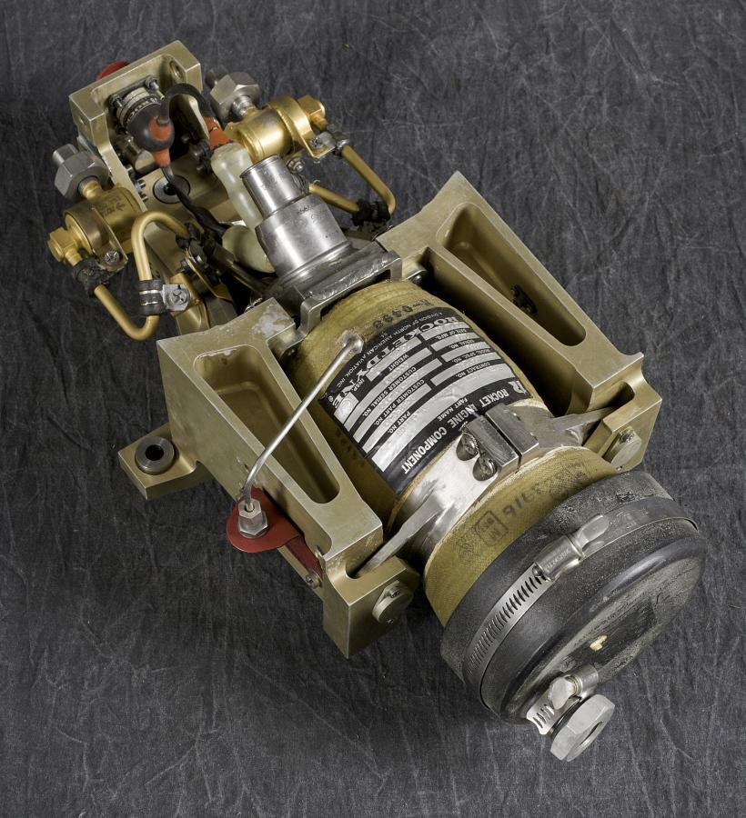 Rocket Engine, Liquid Fuel, Attitude Control, Pitch, for Titan 3E Launch Vehicle