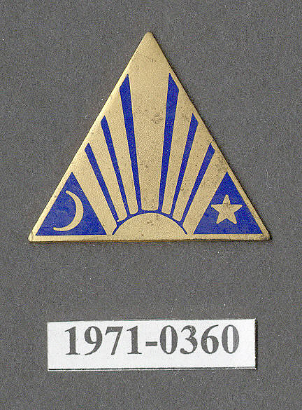 Insignia, 19th Airship Company, United States Army Air Corps