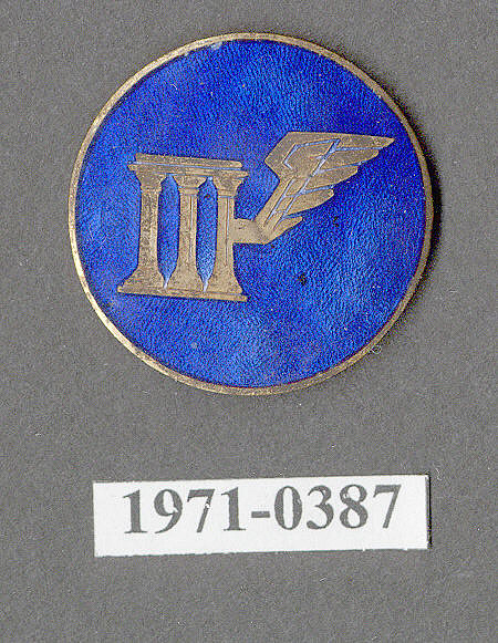 Insignia, 3rd Wing Headquarters, United States Army Air Corps