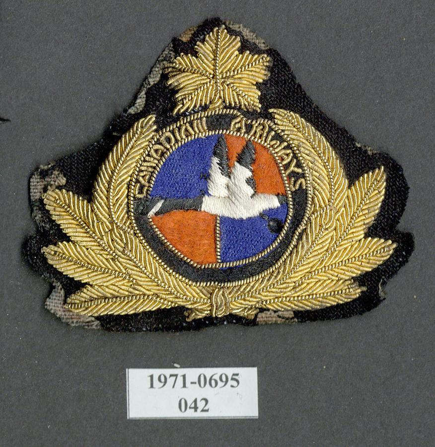 Badge, Cap, Canadian Airways Ltd.