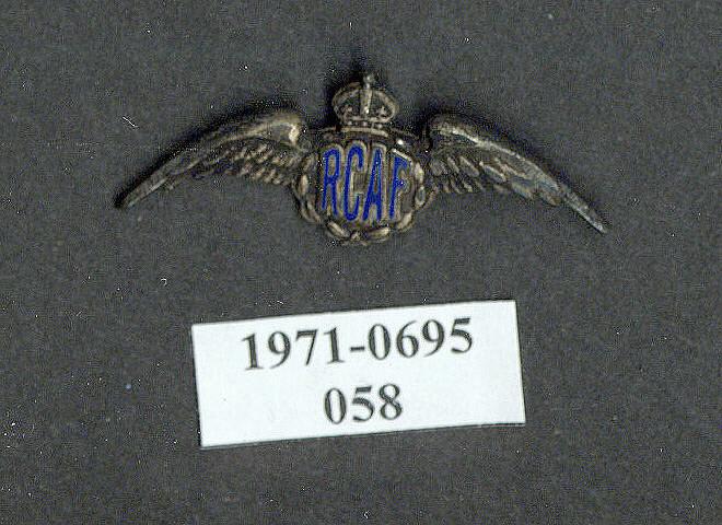 Pin, Lapel, Royal Canadian Air Force