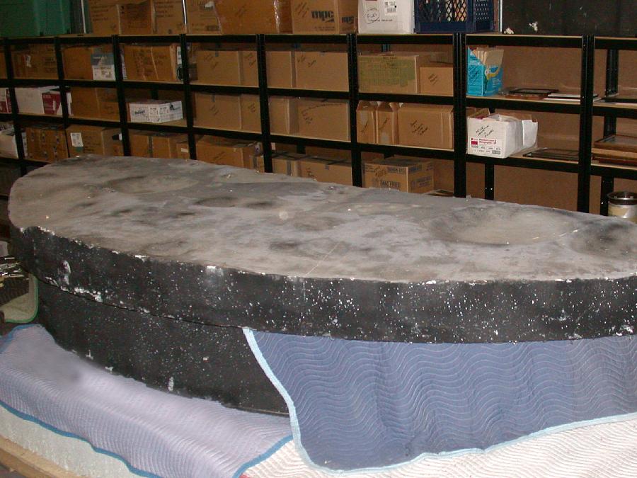 Model, Lunar Surface Mock-up, Surveyor V
