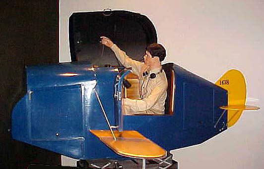 Flight Simulator, Link Trainer, ANT-18