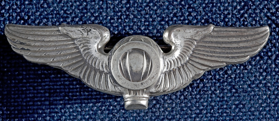 Badge, Balloon Observer, United States Army Air Corps