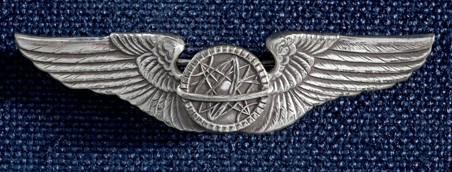 Badge, Navigator, United States Army Air Forces