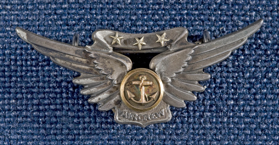 Badge, Combat Aircrew, United States Navy
