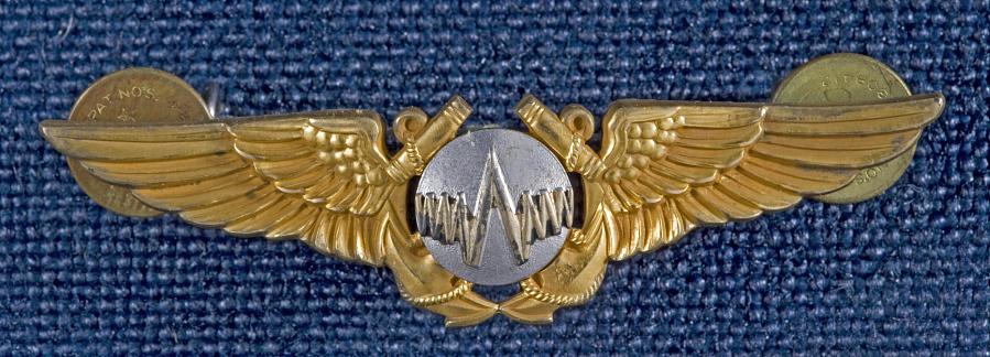 Badge, Radar Observer, United States Navy