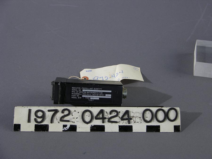 Indicator, Propellant Quantity, Gemini