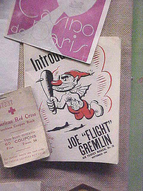 Booklet, Introduction Joe 'Flight' Gremlin, United States Army Air Forces
